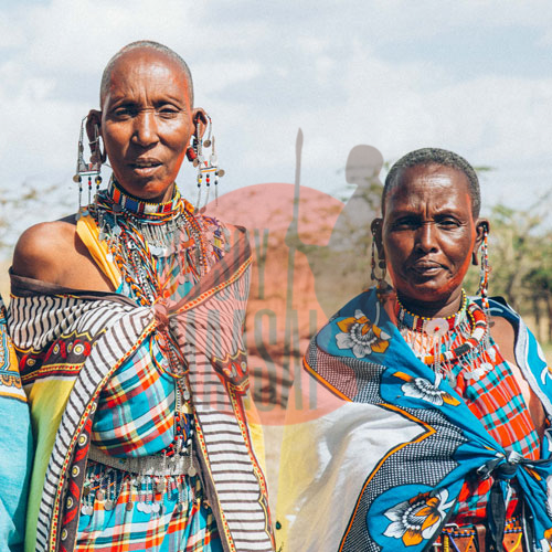 Guerreras Maasai